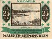 25 Pfennig (Malente - Gremsmühlen) – avers