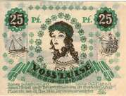 25 Pfennig (Malente - Gremsmühlen) – revers