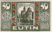 50 Pfennig (Eutin) – avers
