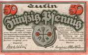 50 Pfennig (Eutin) – revers