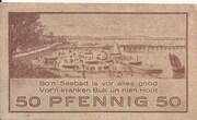 50 Pfennig (Niendorf) – avers