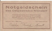 50 Pfennig (Niendorf) – revers