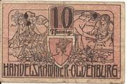 10 Pfennig (Oldenburg) – avers