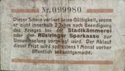 1 Pfennig (Oldenburg; Stadt Rüstringen) – revers