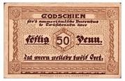 50 Pfennig (Zwischenahn - Ammerland) – avers