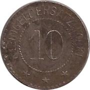 10 pfennig - Oldisleben