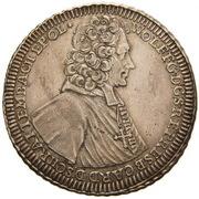 1 Thaler - Wolfgang von Schrattenbach – avers