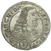 3 Kreuzer - Leopold Wilhelm von Österreich (Kremsier) – avers