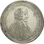 1 thaler Jakob Ernst von Liechtenstein-Kastelcorn – avers