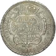 1 thaler Jakob Ernst von Liechtenstein-Kastelcorn – revers