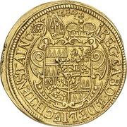 1 Ducat - Karl II von Liechtenstein-Kastelkorn – revers