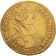 2 Ducat - Karl II von Liechtenstein-Kastelkorn – avers