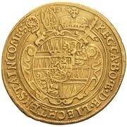 2 Ducat - Karl II von Liechtenstein-Kastelkorn – revers