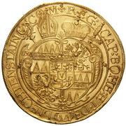 5 Ducat - Karl II von Liechtenstein-Kastelkorn – revers