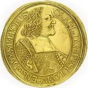 10 Ducat - Karl II von Liechtenstein-Kastelkorn – avers
