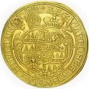 10 Ducat - Karl II von Liechtenstein-Kastelkorn – revers