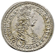 3 kreuzer Charles III Joseph de Lorraine – avers