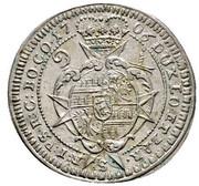 3 kreuzer Charles III Joseph de Lorraine – revers