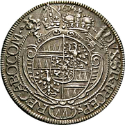 15 Kreuzer - Karl II von Liechtenstein-Kastelkorn – revers