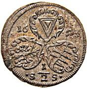 ½ Kreuzer - Karl II von Liechtenstein-Kastelkorn (Kremsier) – avers