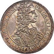 1 thaler Charles III Joseph de Lorraine – avers