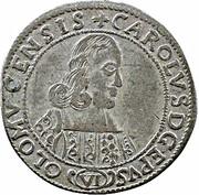 6 kreuzer Karl II von Liechtenstein-Kastelkorn – avers