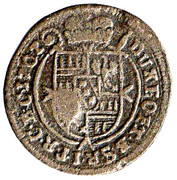 1 kreuzer Karl III Joseph de Lorraine – revers