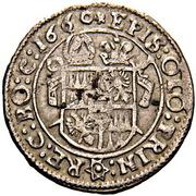 3 Kreuzer - Leopold Wilhelm von Österreich (Wischau) – revers