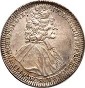 1 thaler Wolfgang von Schrattenbach – avers