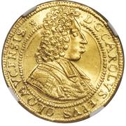 1 ducat Charles III Joseph de Lorraine – avers