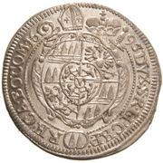 3 Kreuzer - Karl II von Liechtenstein-Kastelkorn (Kremsier) – revers