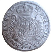 6 kreuzer Charles III Joseph von Lothringen – revers