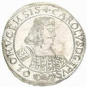 15 Kreuzer - Karl II von Liechtenstein-Kastelkorn – avers