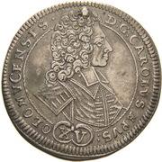15 kreuzer Charles III Joseph de Lorraine – avers