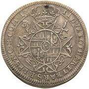15 kreuzer Charles III Joseph de Lorraine – revers