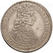 ½ thaler Charles III Joseph de Lorraine – avers