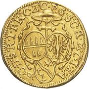 ¼ ducat Wolfgang von Schrattenbach – revers