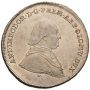 10 Kreuzer - Anton Theodor of Colloredo-Waldsee – avers