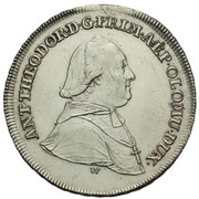 20 Kreuzer - Anton Theodor of Colloredo-Waldsee – avers