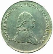 ½ Thaler - Anton Theodor of Colloredo-Waldsee – avers
