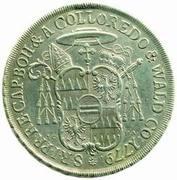 ½ Thaler - Anton Theodor of Colloredo-Waldsee – revers