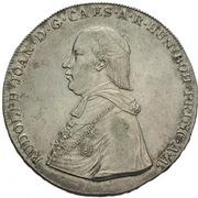 1 Thaler - Rudolph Johann – avers