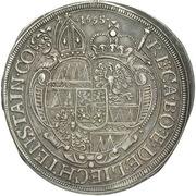 1 Thaler - Karl II von Liechtenstein-Kastelkorn – revers