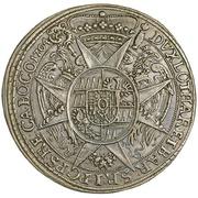 1 thaler Charles III Joseph de Lorraine – revers