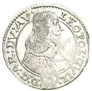 3 kreuzer Leopold Wilhelm d'Autriche – avers