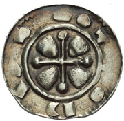 Denár - Otto I of Olomouc – revers
