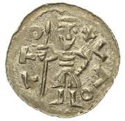 Denar - Otto I of Olomouc – revers