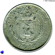 5 centimes - coopérative de consommation Olonzagaise Olonzac [34] – avers