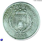10 centimes - coopérative de consommation Olonzagaise - Olonzac [34] – avers