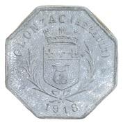 25 centimes - coopérative de consommation Olonzagaise - Olonzac [34] – avers